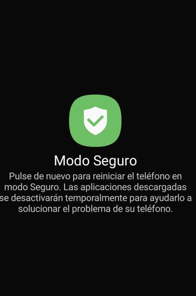 android modo seguro