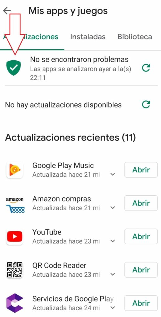 google play protect quitar adware android