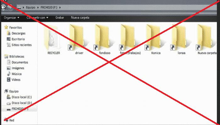 Que es y como quitar virus de Acceso directo (Método actualizado 2019) 1