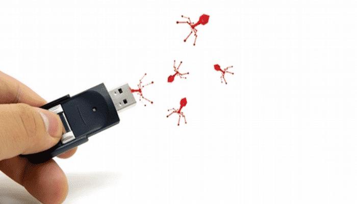 Archivos ocultos de USB