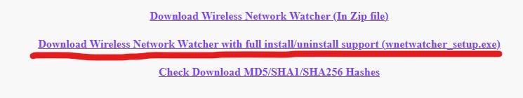 instalar wireless detector