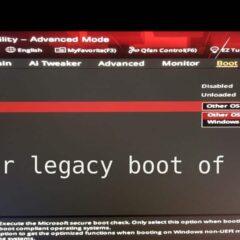 Solución error legacy boot of uefi media 2020 ✔️ 1