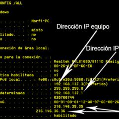 Saber mi IP y MAC en Windows y Mac OS 2021 2
