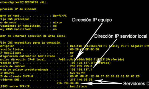 Saber mi IP y MAC en Windows y Mac OS 2021 1