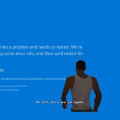 Solución Pantalla azul de Windows 10 1