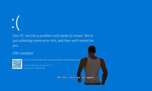 Solución Pantalla azul de Windows 10 2