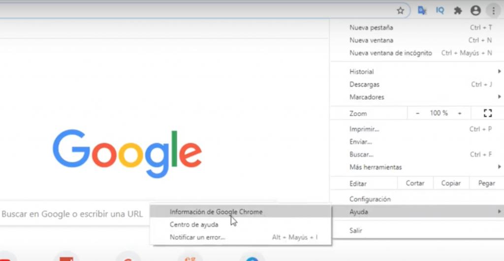 como actualizar google chrome