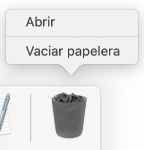 papelera restaurar archivos mac