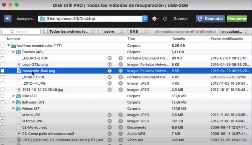 recuperar archivos eliminados de tu mac con programa