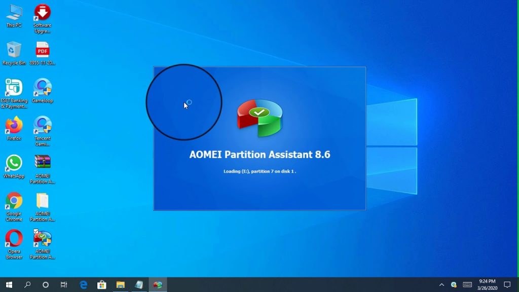 aomei partition asistant programa particiones windows
