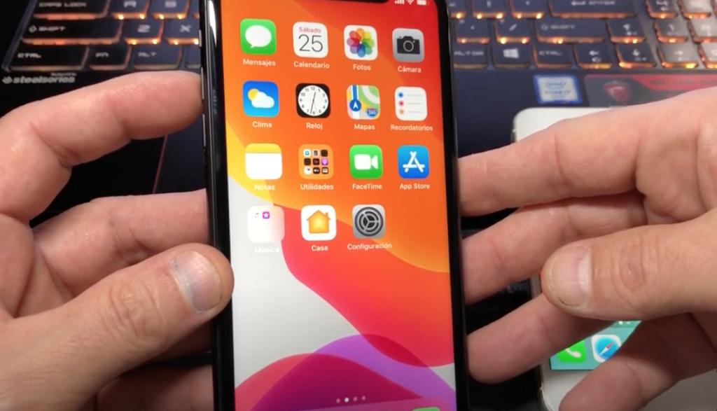 reiniciar iphone para solucionar problemas de chromecast