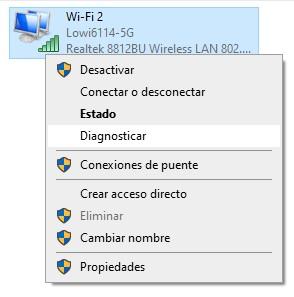 reparador de problemas de conexion windows