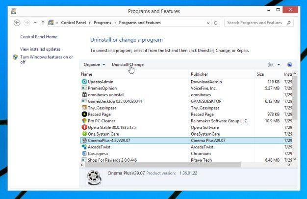 Eliminar Zoomify de Windows