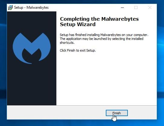 Captura de pantalla final de Malwarebytes Anti-Malware