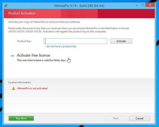 Eliminar el malware con HitmanPro