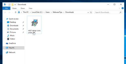 Instalador de Malwarebytes
