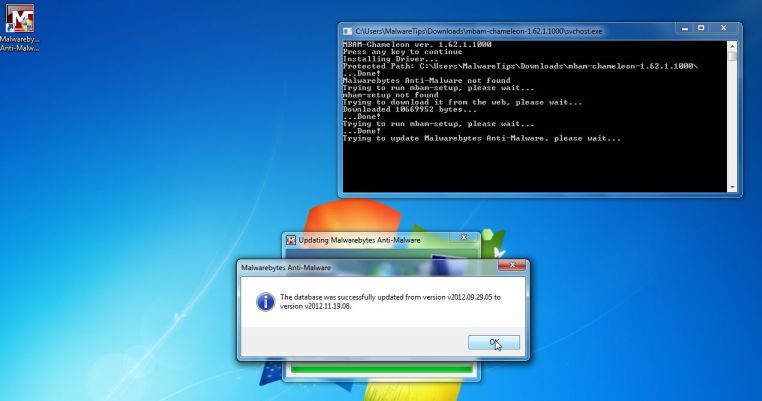Malwarebytes Chameleon actualiza su base de datos