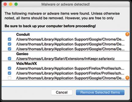 Eliminación de Malwarebytes para Mac