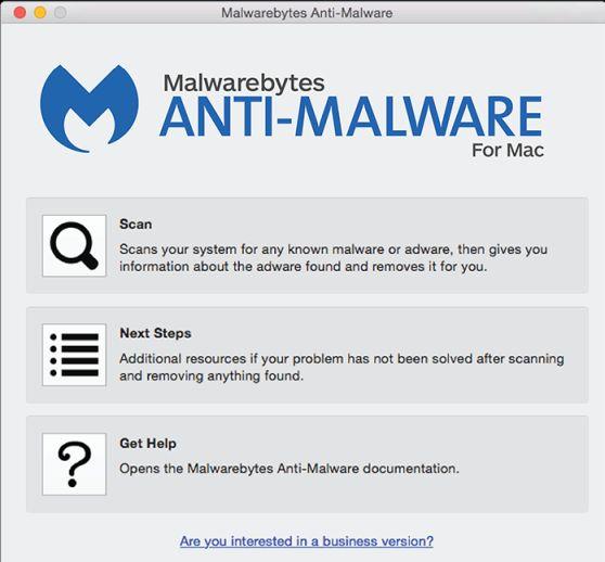 Escanear con Malwarebytes para Mac