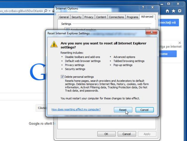 [Image: Reset Internet Explorer to its default settings]