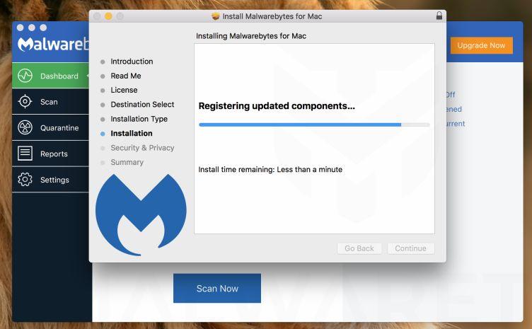 Malwarebytes para Mac - Instalación Parte 4