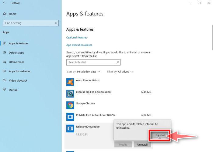 Windows 10: Completa el proceso de desinstalación