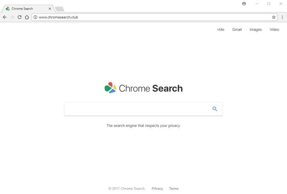 chromesearch.club redirect virus