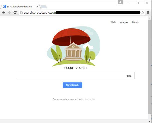 redireccionamiento de search.protectedio.com