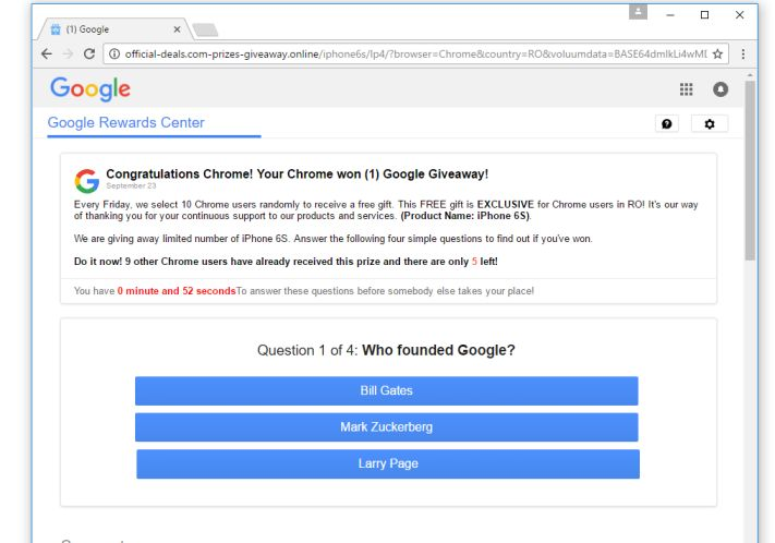 Redirigir a Google Membership Rewards