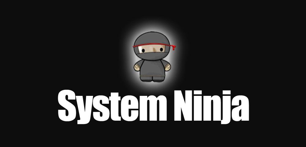 system ninja logo